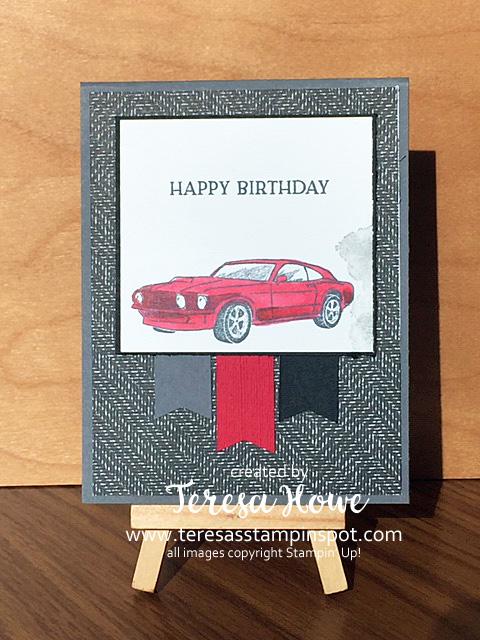 Garage Gears, Masculine, Birthday, Stampin' Up!, SU!, #2020AnnualCatalog