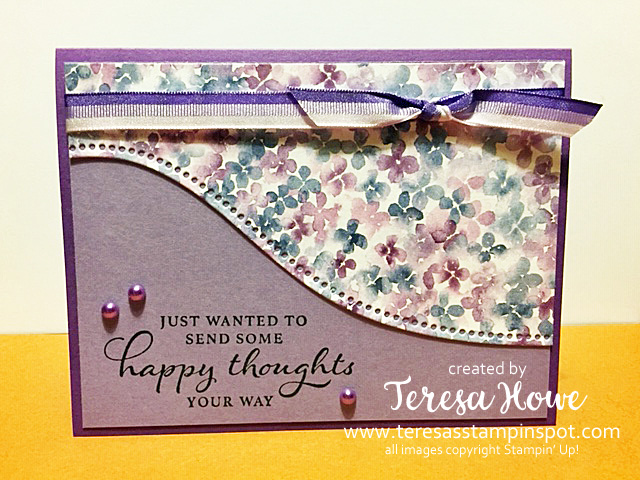 Happy Thoughts, Any Occasion, Stampin' Up!, SU!, #JanJune21Mini