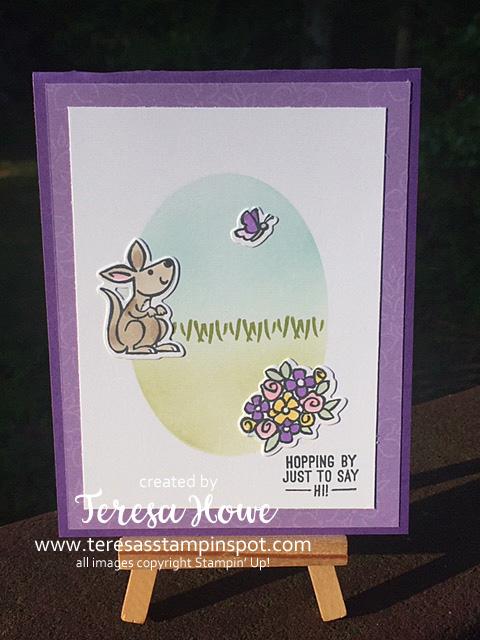 Baby, Friendship, Kangaroo, Kangaroo & Company, Stampin' Up!, SU!, #JanJune2021Mini