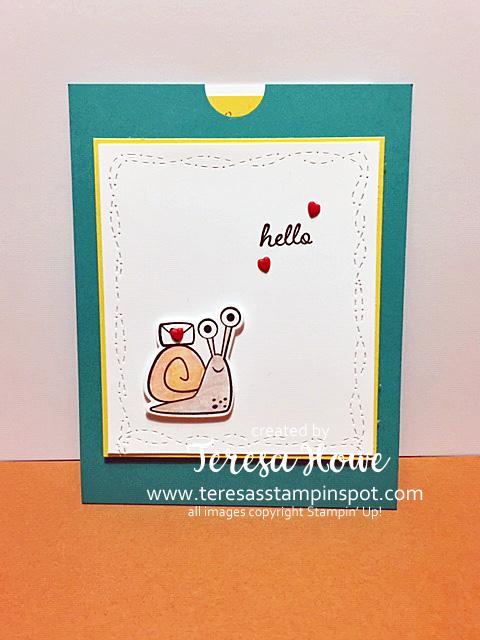 Snail Mail, Hello, Friendship, Stampin' Up!, SU!, #JanJuneMini2021