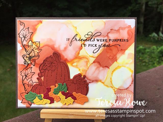 Fall, Friendship. Thanks, Pretty Pumpkins, Stampin' Up! SU!, #JulyDec2021Mini