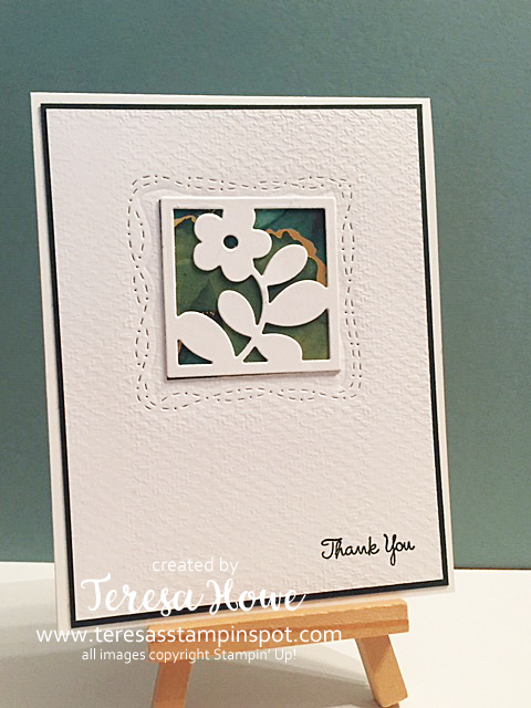 Squared Away, Floral Squares, Expressions in Ink, Love of Leaves, Thank You, CAS, Stampin' Up!, SU!, #2021AnnualCatalog