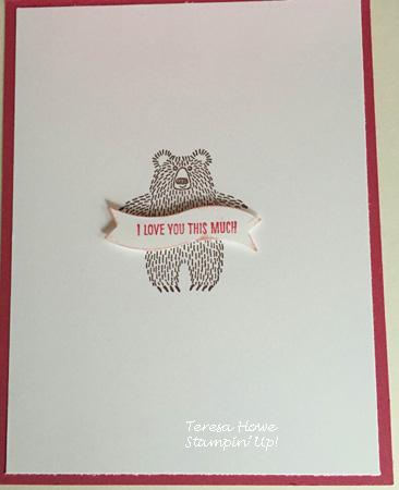 Stampin' Up!  Bear Hugs