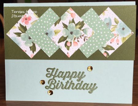 Stampin' Up!, Birthday Bouquet, Perfect Pairings,