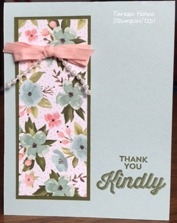 Stampin' Up! Birthday Bouquet, Perfect Pairings