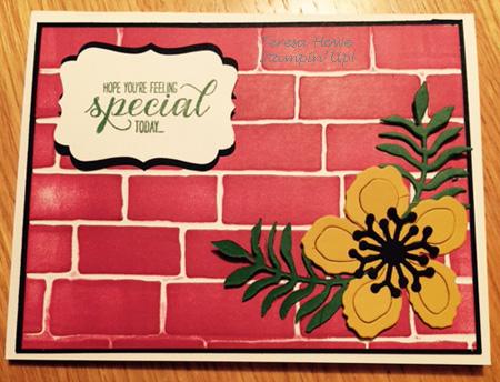 SU! Brick Wall EF, Botanical Builders, Garden in Bloom