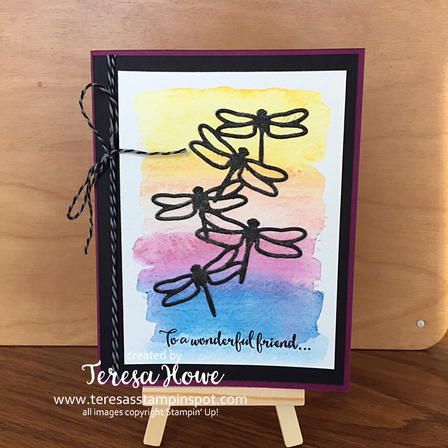 Stampin' Up! SU! Dragonfly Dreams