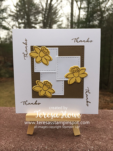 Stampin' Up! Basket Bunch, Weather Together, SU!