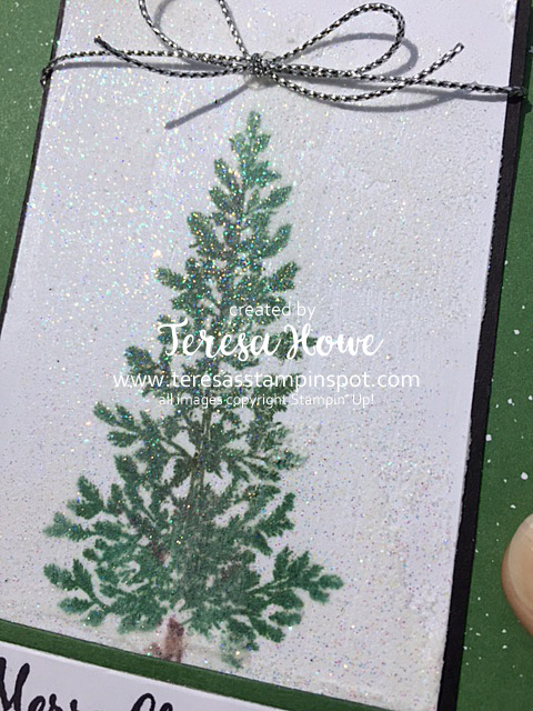 Lovely As A Tree, LaaT, SU!, Stampin' Up!, Christmas, Embossing Paste, Glitter