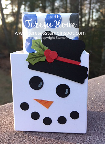 Christmas, Gift Bag, Snowman, Gift Bag Punch Board, Punches, Stampin' Up!, SU!