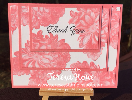 Thanks, Cards, DIY Papercrafting, Heartfelt Blooms, 2018SAB, Stampin' Up!, SU!