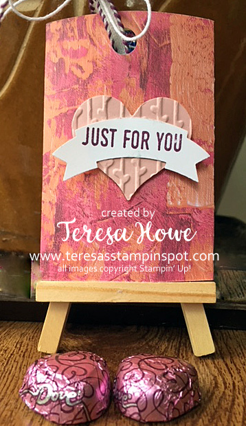 Valentines, Love, Treat Holder, Lots to Love, Painted Love, Stampin' Up!, SU!