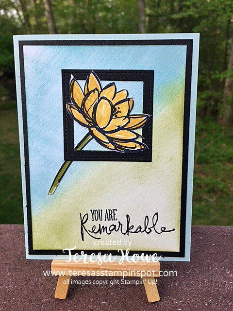 Flowers, Thanks, You are Remarkable, Stampin' Up!, SU!